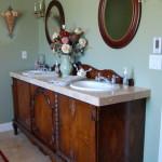 antique style vanity