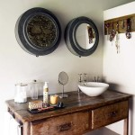 antique vanity units for bathroom