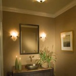 bathroom vanity lights ceiling mount
