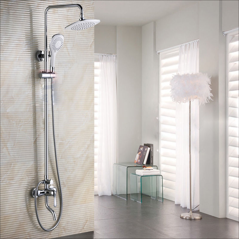 Charmant How To Add Rainfall Effect To Your Bathroom U2014 Big Rain Shower Head