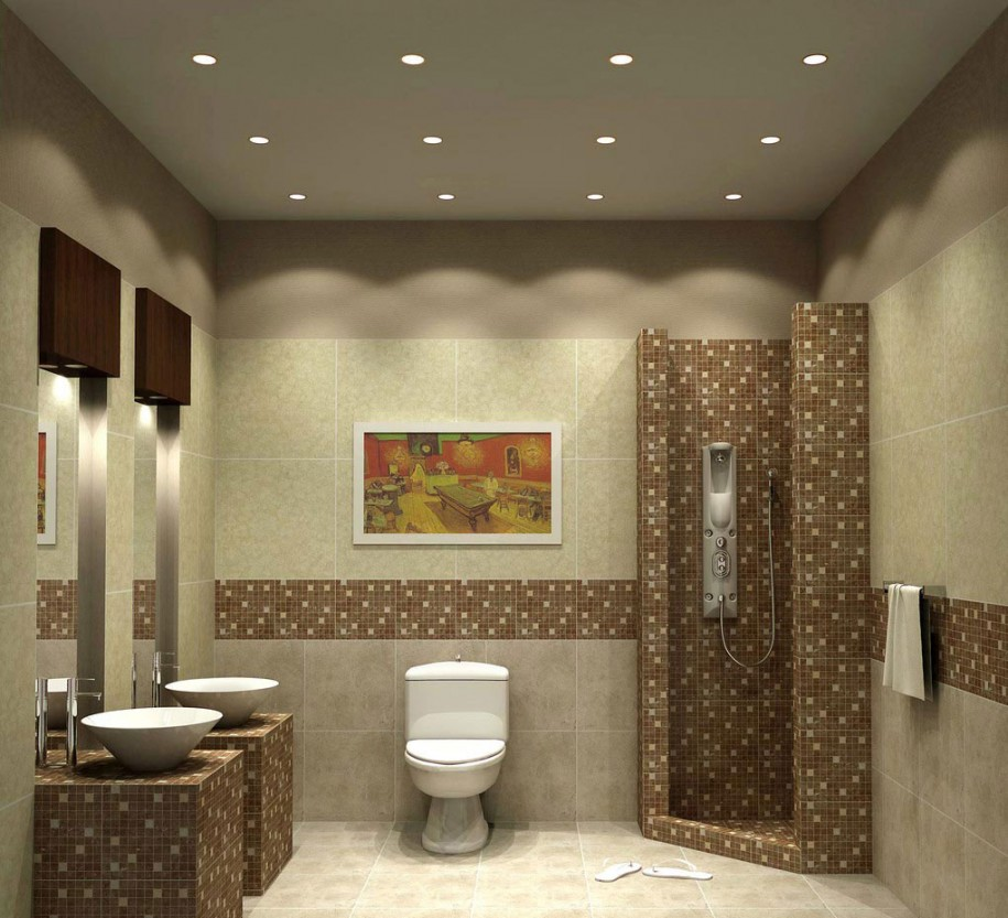 Bathroom lighting the dreamy design ideas decorideasbathroom ceiling lights for bathroom aloadofball Choice Image