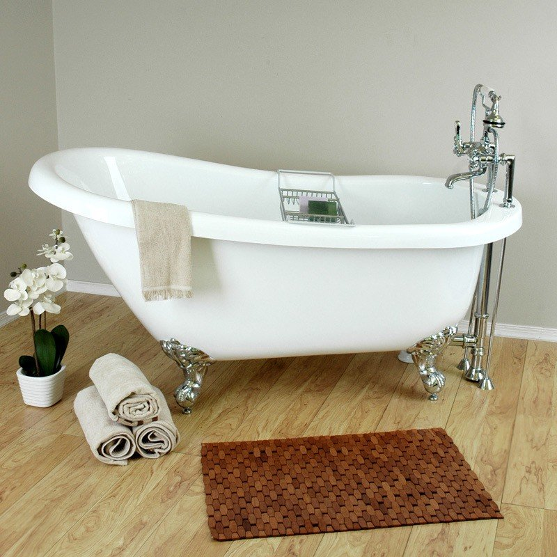 clawfoot tub faucet with handheld shower - Faucets For Clawfoot ...