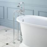 clawfoot tub filler faucet