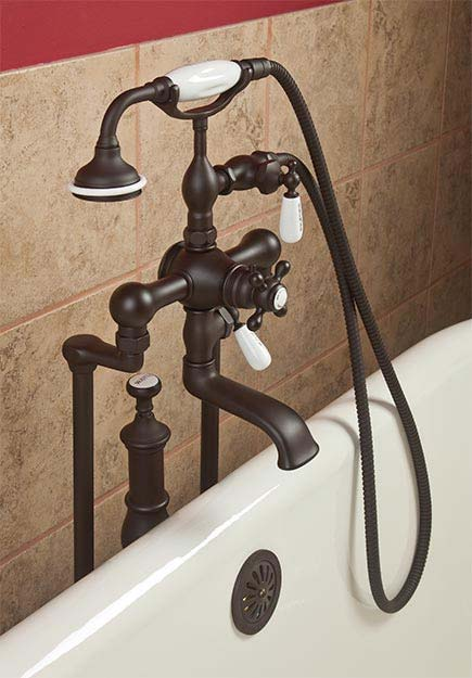 clawfoot tub shower faucet - Faucets For Clawfoot Bathtubs ...