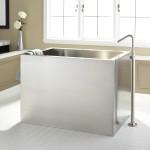 deep japanese soaking tub