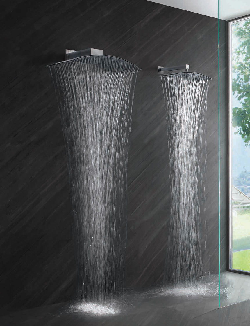 double rain shower head - How to Add Rainfall Effect to Your ...