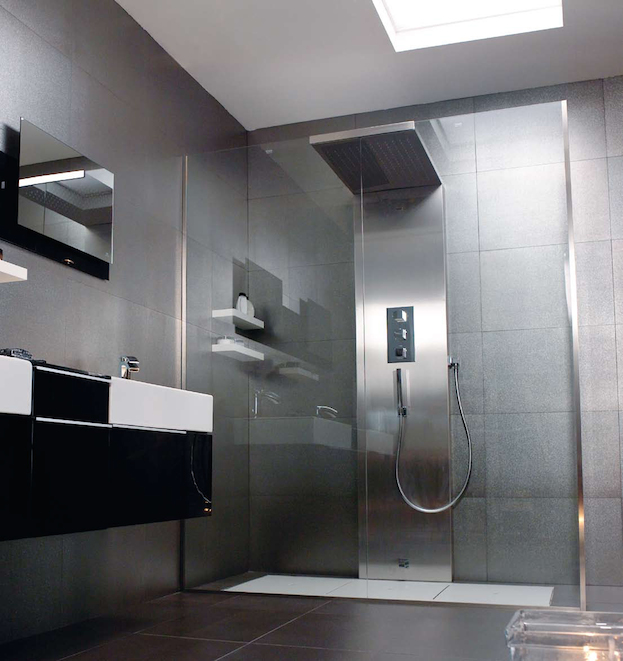 Extra Large Rain Shower Heads How To Add Rainfall Effect To Your