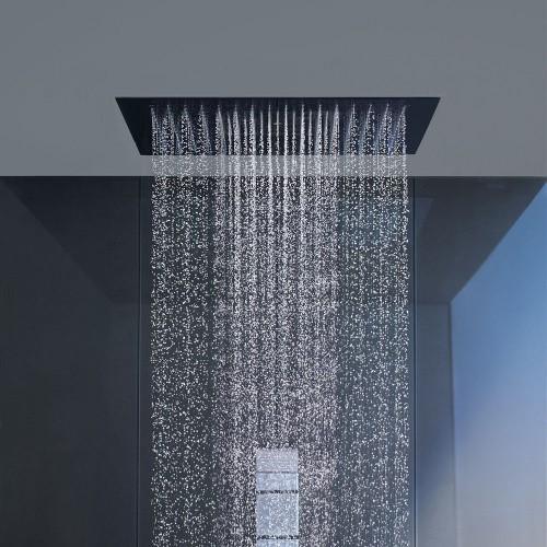 How To Add Rainfall Effect Your Bathroom Flush Mounted Rain Shower Head