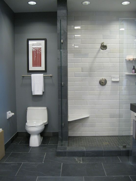 Grey Bathroom Tile Ideas Top 3