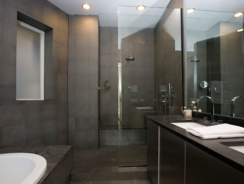Top 3 Grey Bathroom Tile Ideas U2014 Grey Slate Tile Bathroom