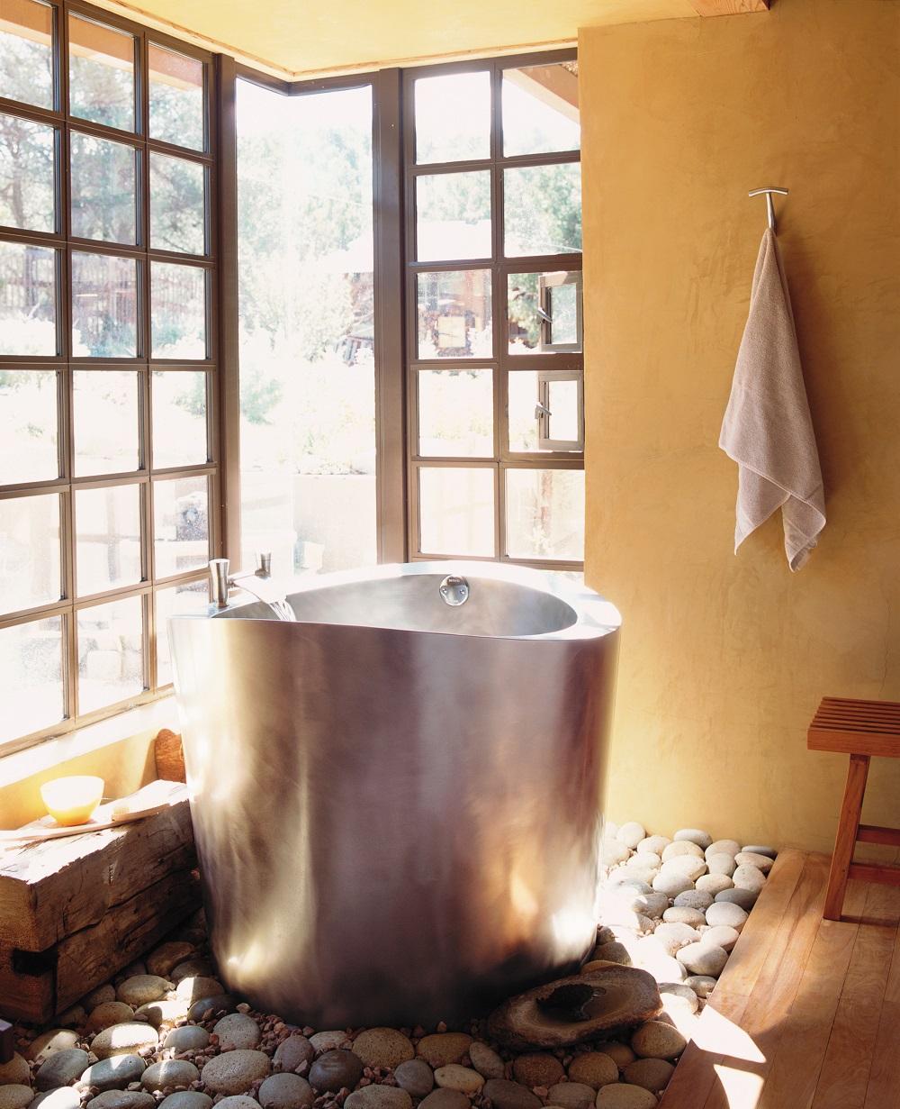 Japanese Soaking Tub For Small Bathroom Ofuro Soaking Tubs The Vibe Of Japan In Your Bathroom Decorideasbathroom Com Best Bath Ideas