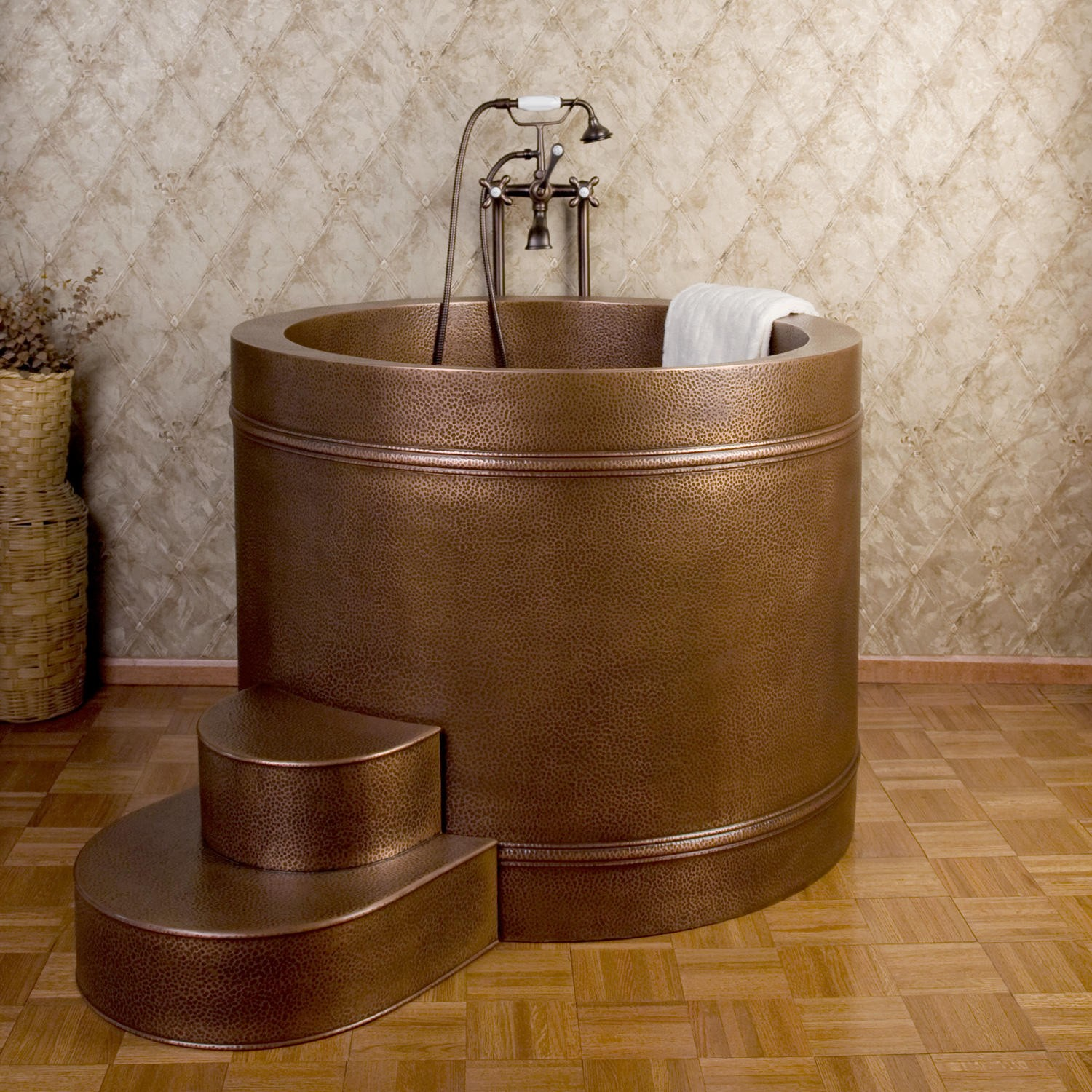 Japanese Soaking Tub With Shower Ofuro Soaking Tubs The