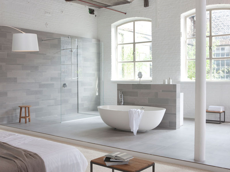 Top 3 grey bathroom tile ideas for Bathroom ideas grey tiles