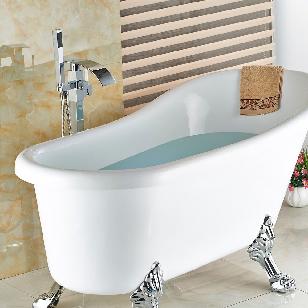 Faucets for clawfoot bathtubs for Modern claw foot tub