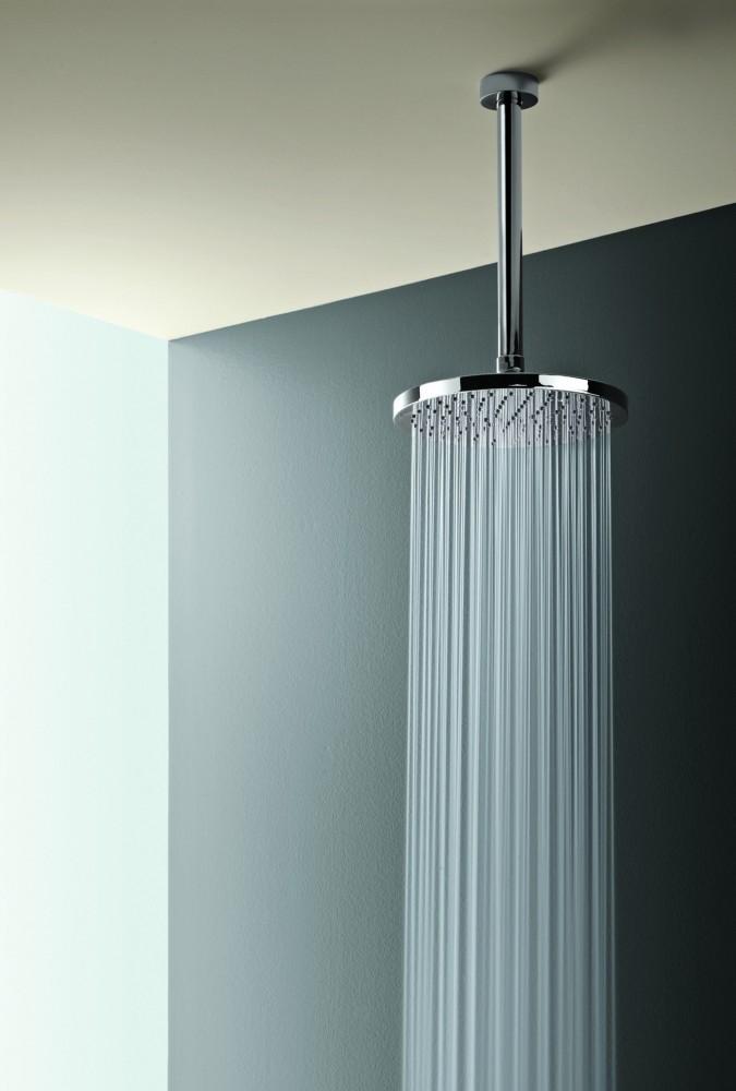 How To Add Rainfall Effect Your Bathroom Overhead Rain Shower Head