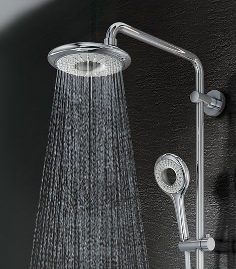 How To Add Rainfall Effect Your Bathroom Rain Shower Head With Handheld