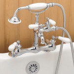 shower faucet for clawfoot tub