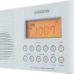 shower radio with clock