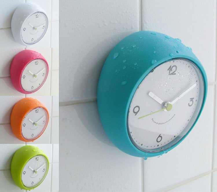 Shower Clock as Modern Bathroom Gadget   small bathroom clocksmall bathroom clock   Shower Clock as Modern Bathroom Gadget  . Small Bathroom Clocks. Home Design Ideas