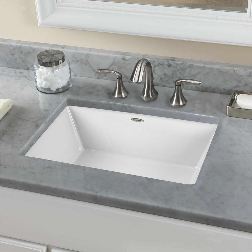 Square Bathroom Sink Contemporary Looking Elegance Small