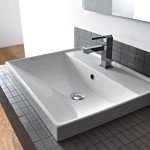 square bathroom sink undermount