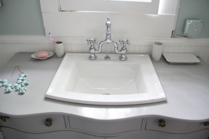 Square Bathroom Sink Contemporary Looking Elegance