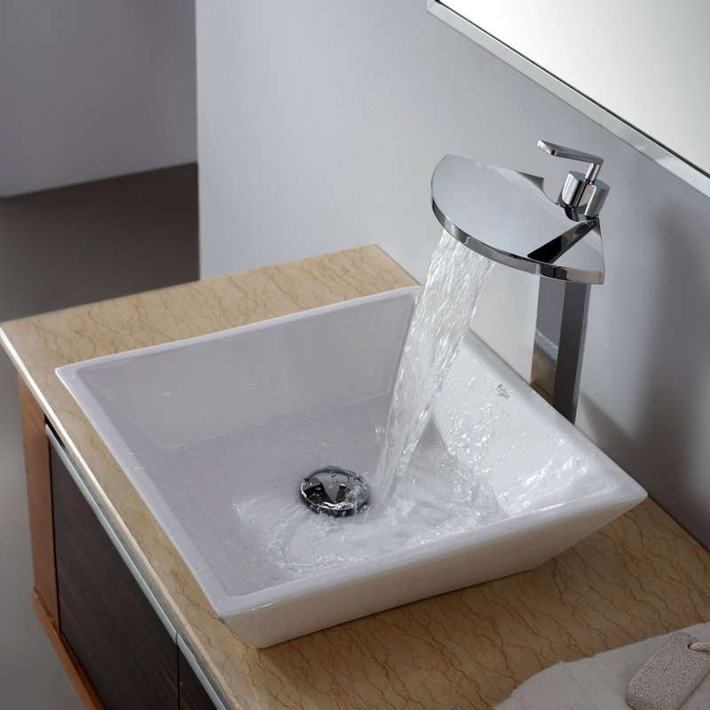 Square Bathroom Sink: Contemporary Looking Elegance U2014 Square Sink For  Bathroom
