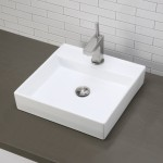 square vanity bathroom sink