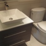 square vessel bathroom sink