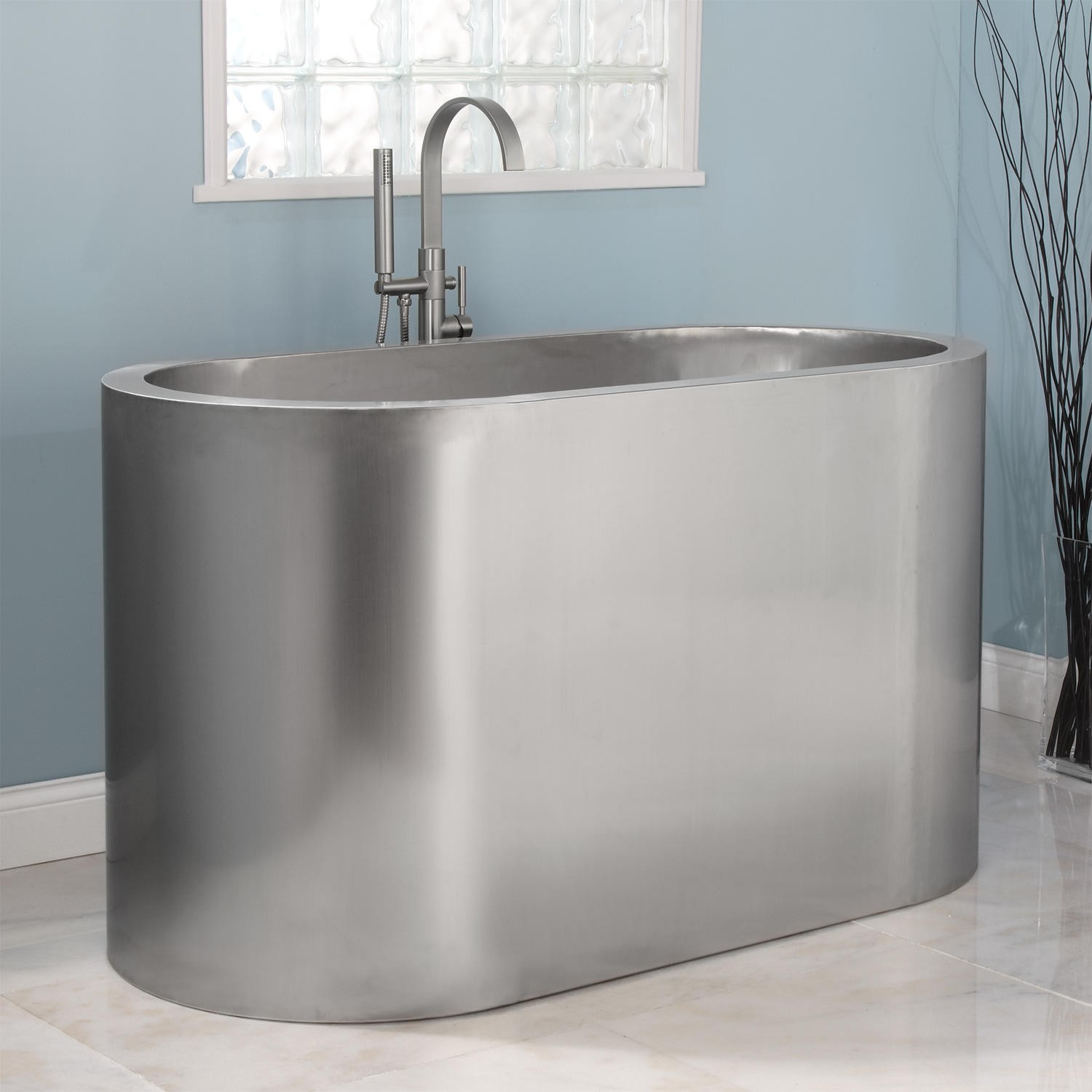stainless steel japanese soaking tub - Ofuro Soaking Tubs: The Vibe ...