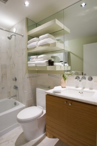 towel shelf over toilet - Shelves Over The Toilet As The Additional ...