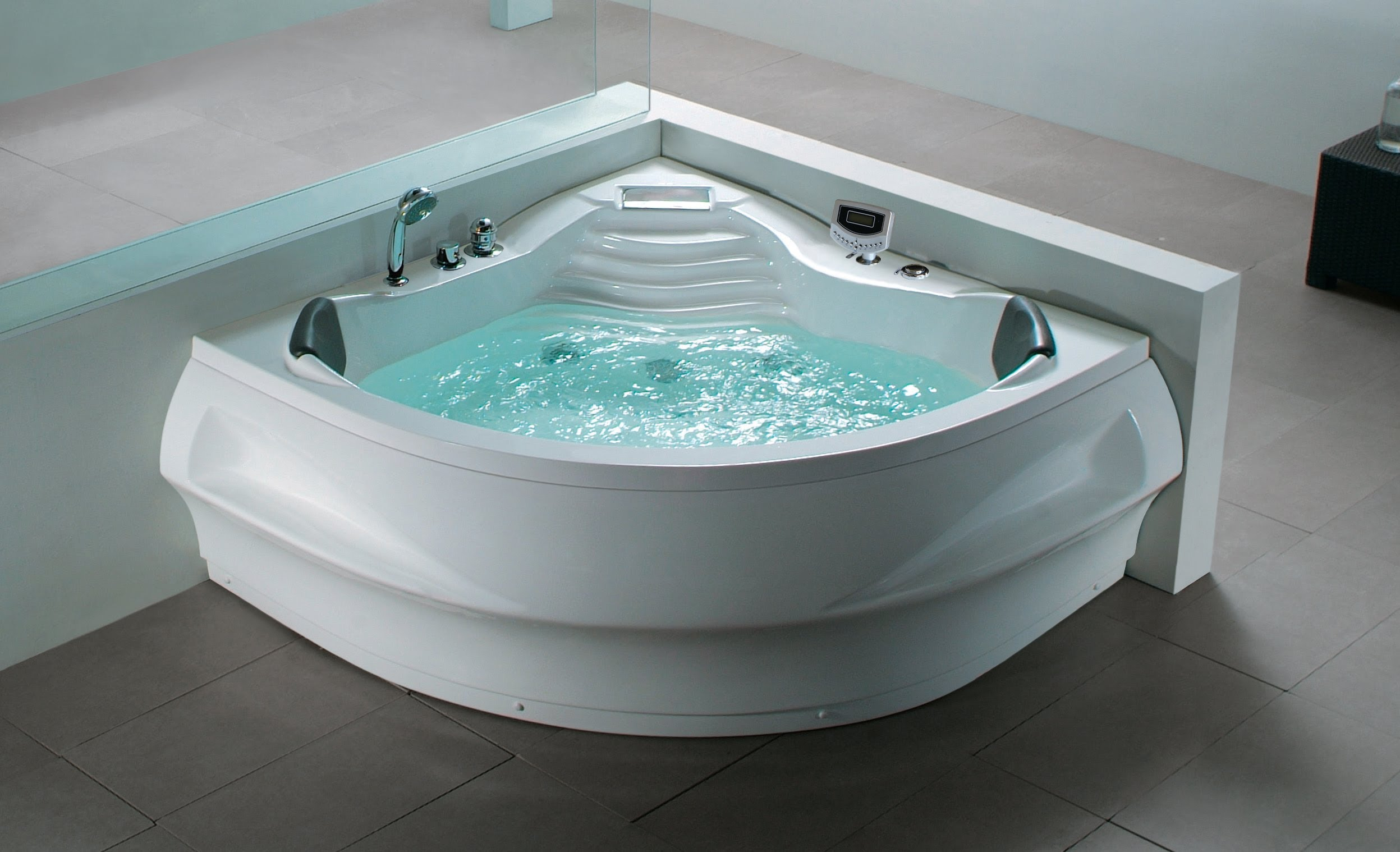 Two Person Bathtubs For A Romantic Couple - DecorIdeasBathroom.com ...
