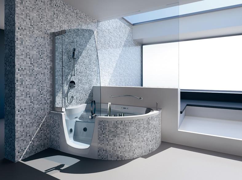 Two Person Bathtub Shower Combo - Cratem.com