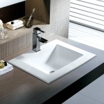 undermount square bathroom sink