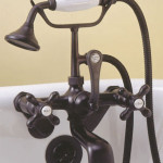 vintage clawfoot tub faucet
