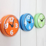 waterproof clock for bathroom
