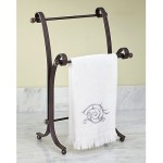 bathroom hand towel rack