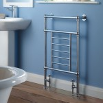 bathroom towel drying rack