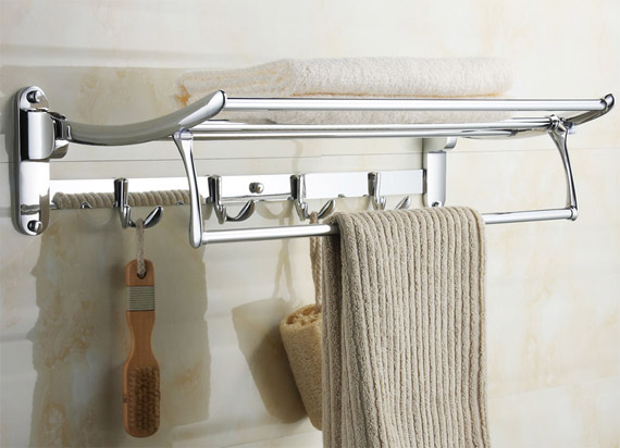 bathroom towel rack ideas