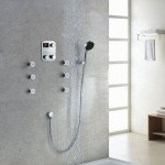 Contemporary shower faucets