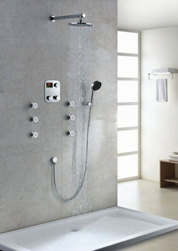 Contemporary shower faucets - Faucets: The Best Ideas for Bathroom ...