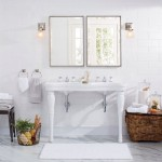 double pedestal sink