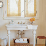 large pedestal sink
