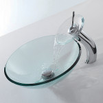Modern faucets for vessel sinks