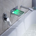 Modern tub and shower faucets