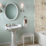 oval pedestal sink