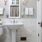 pedestal bathroom white sink