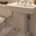 retro pedestal sink