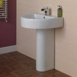 small bathroom pedestal sink