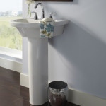 tall pedestal sink